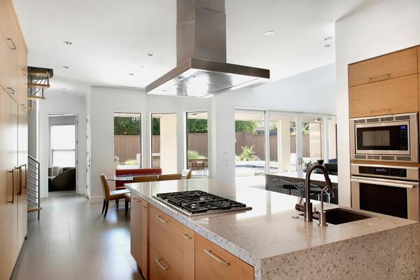 Texas Vernacular Contemporary Kitchen Dallas By