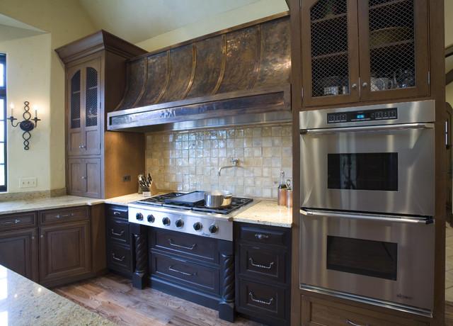 Textured Kitchen Hood traditional-kitchen
