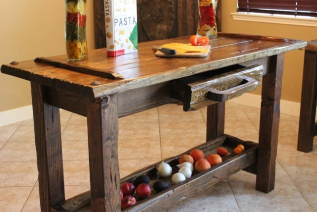 The 1876 Collection Rustic Kitchen Houston By