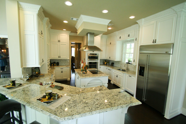 The Alexandria Kitchen Houston By Design Tech Homes