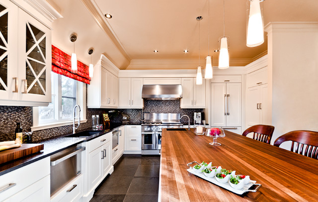 The allure traditional kitchen montreal by for Tendances concept