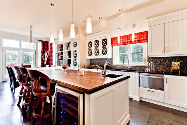 The Allure traditional-kitchen