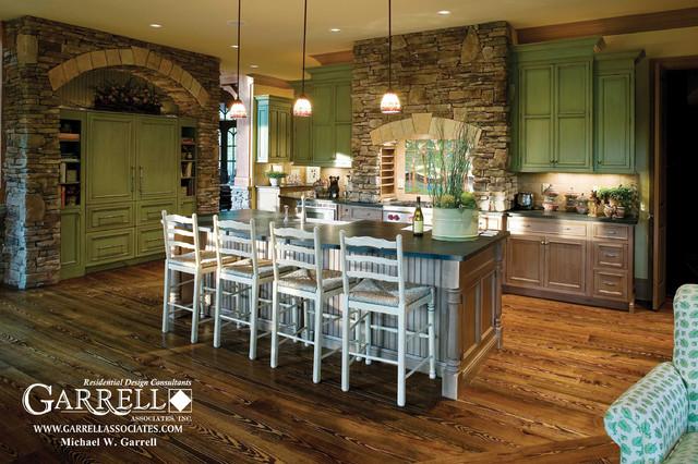 The Amicalola Cottage House Plan 05168 Kitchen