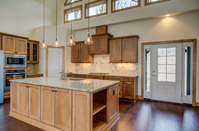 The appalachia rustic kitchen raleigh by collins for Collins design build