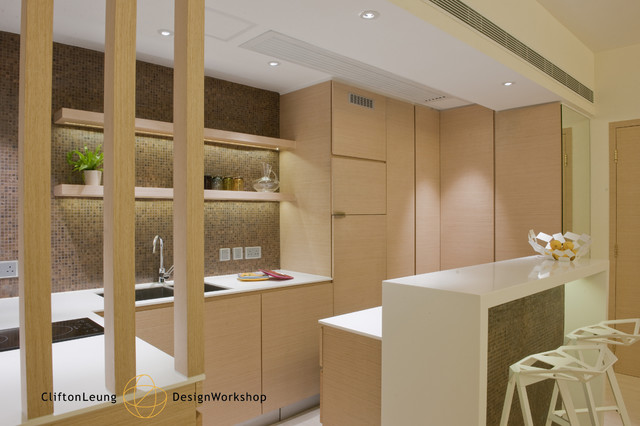 The arch a perfect city pad a chic hotel d cor modern kitchen hong kong by clifton Kitchen design companies hong kong