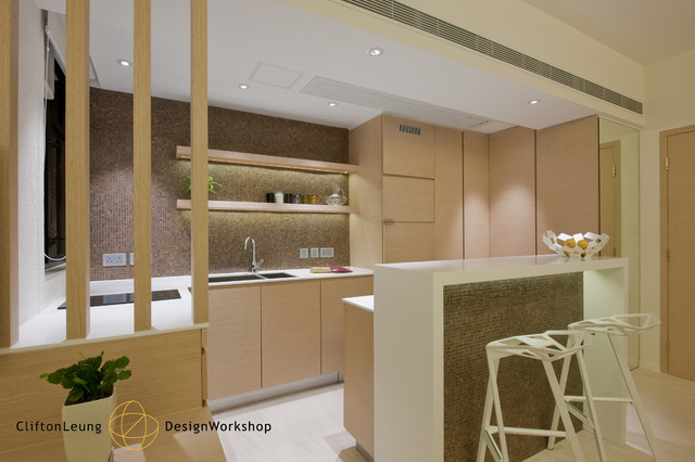 The Arch   A Perfect City Pad . A Chic Hotel Décor Modern Kitchen Part 67