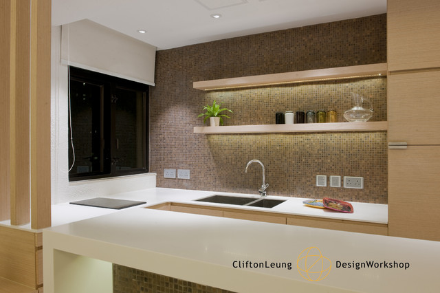 The Arch A Perfect City Pad Chic Hotel D Cor Modern Kitchen Modern. Kitchen  Design Hk.