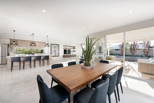 The aster contemporary kitchen perth by ben trager for Aster kitchen cabinets
