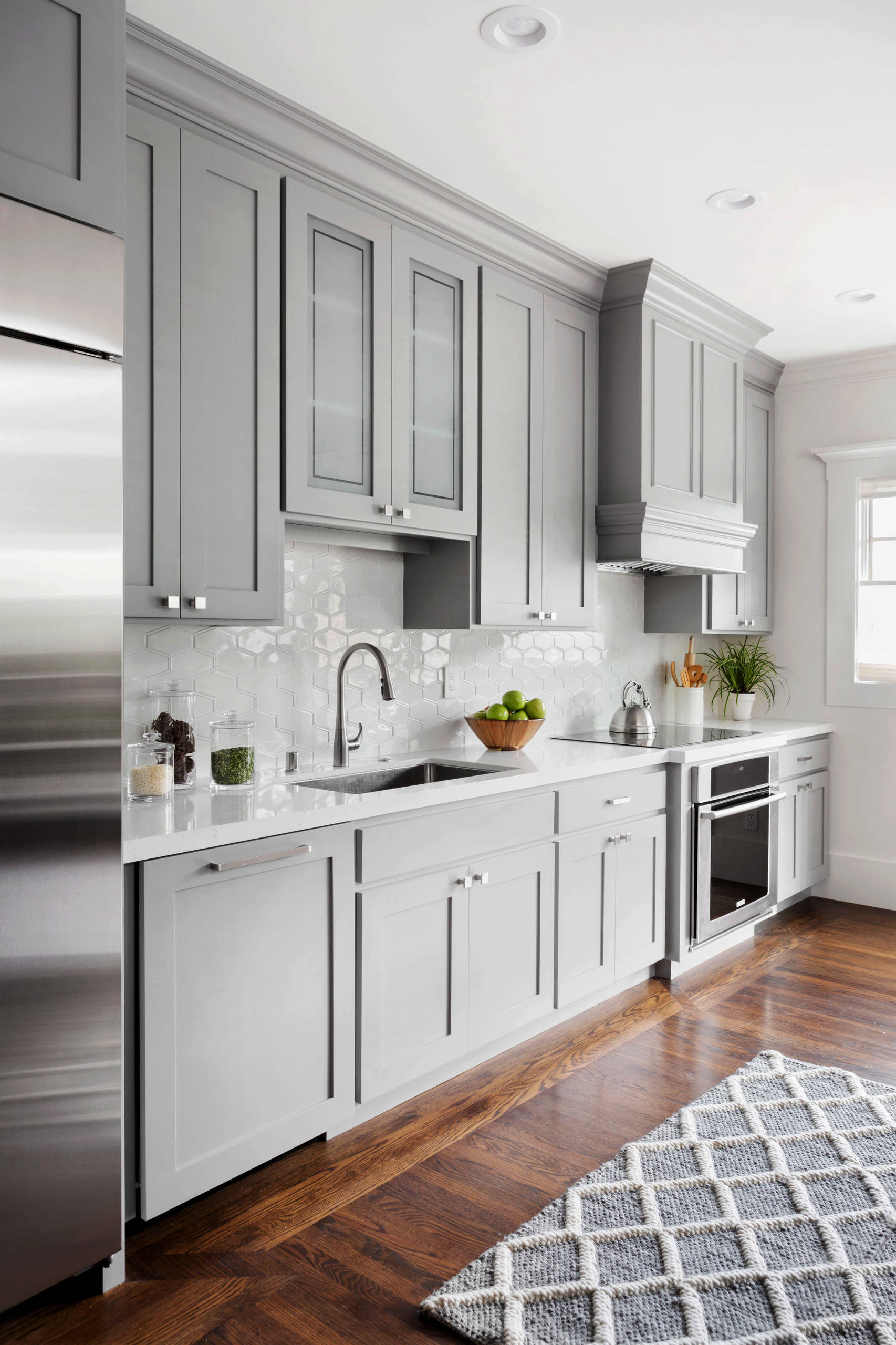 75 Beautiful Gray Kitchen Pictures Ideas November 2020 Houzz