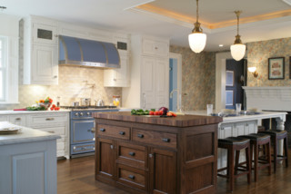 The aynsley traditional kitchen new york by for Greek kitchen designs