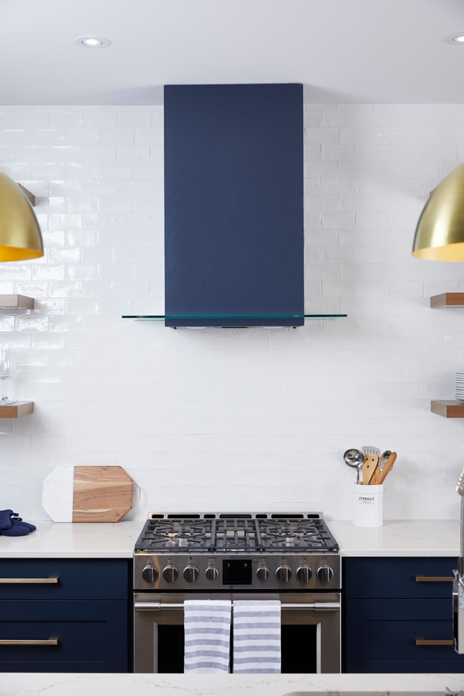 The Baldwin Contemporary Kitchen Ottawa By Potvin Kitchens
