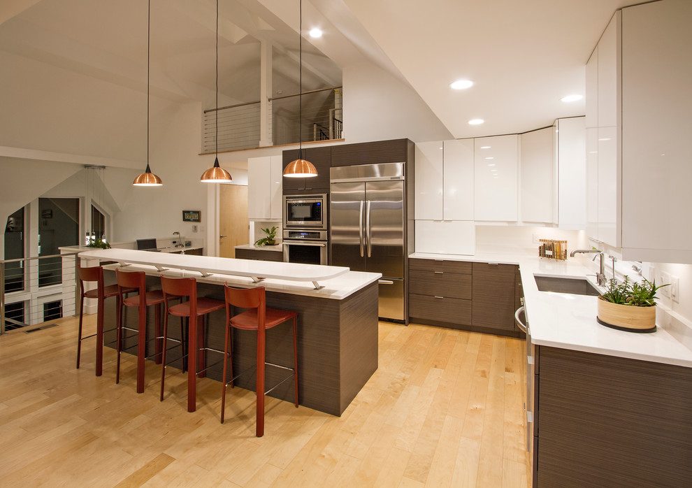 The Barn - Anderson Township - Contemporary - Kitchen ...
