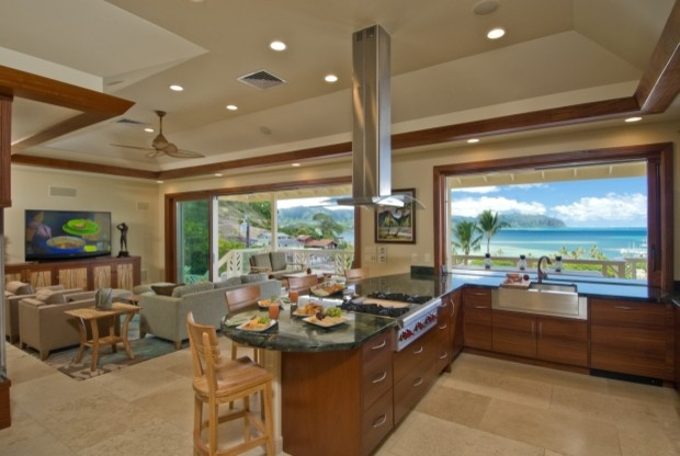 The Bay House View kitchen