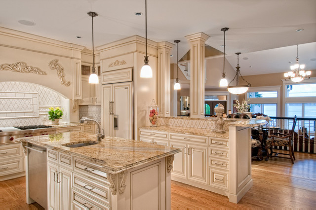 The Bayside traditional-kitchen