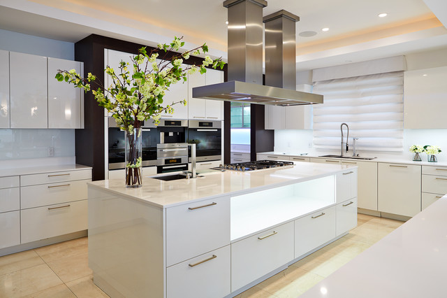 The baystone custom home contemporary kitchen tampa for Cuisine 12m2