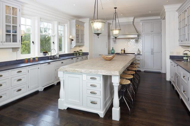 The Beach House beach-style-kitchen