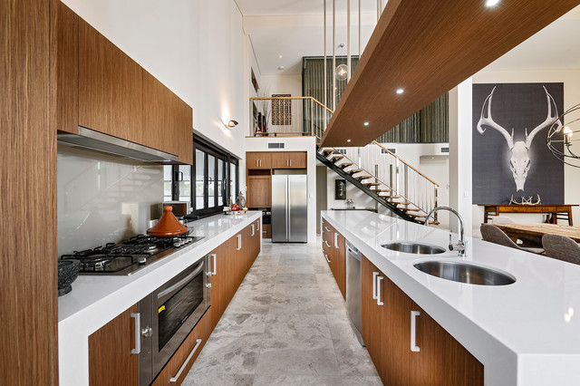 contemporary kitchen by the rural building company what to consider with an extra long kitchen island  rh   houzz com
