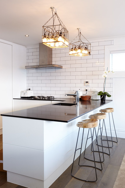 The Block NZ Season II Contemporary Kitchen Auckland by Context Archi