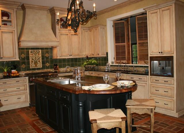 The Bohemian Kitchen Of Gozan Interiors LLC Traditional