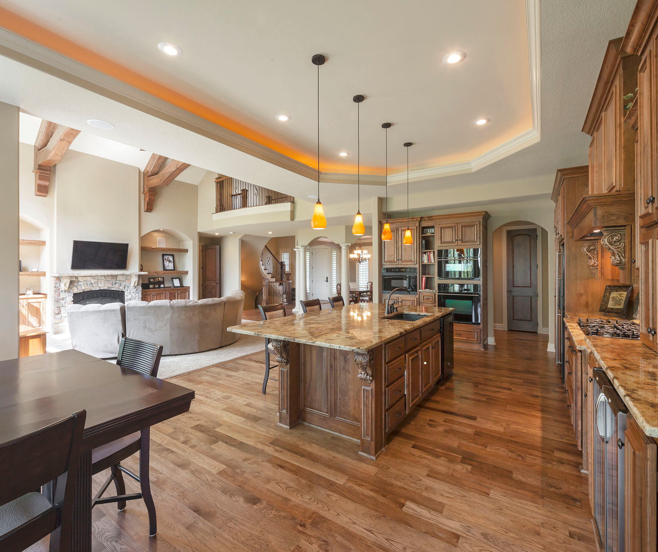 The Brent Floor Plan   Traditional   Kitchen   Kansas City   by ...