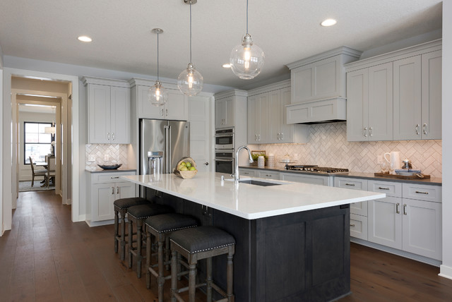 Robert Thomas Homes Houzz, Kitchen Cabinets Plymouth Mn