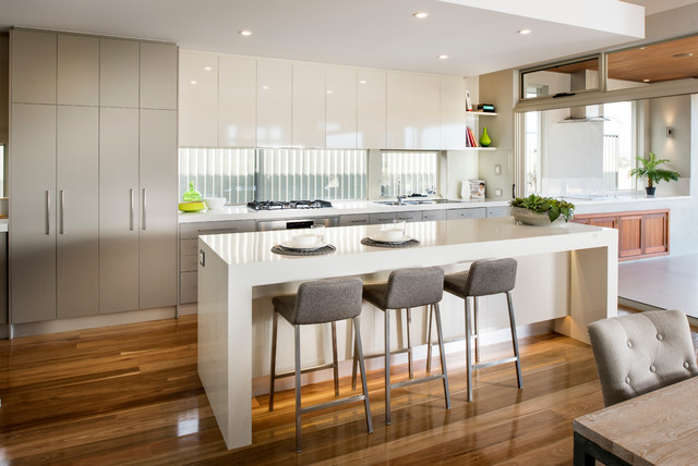 The Cape West - Contemporary - Kitchen - Perth - by WA Country Builders