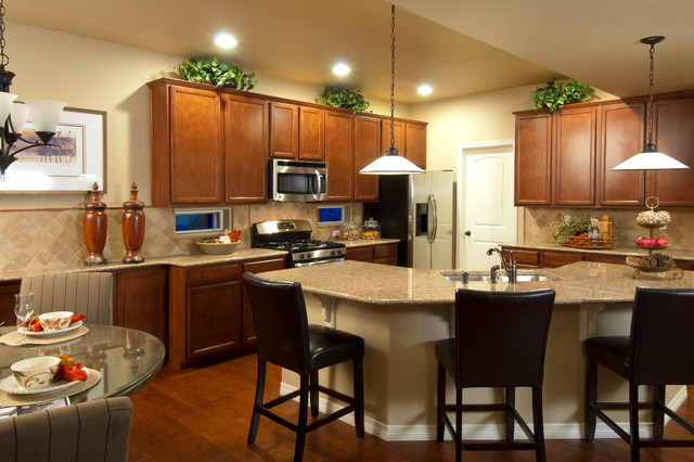the cascade by reunion homes traditional kitchen denver by