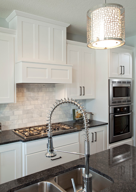 The Chandler - Traditional - Kitchen - minneapolis - by Homes by Tradition
