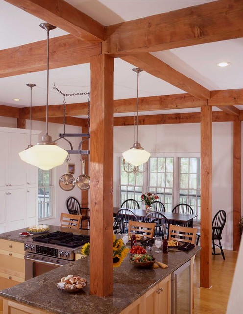 The Charleston Southern Colonial Post and Beam ...
