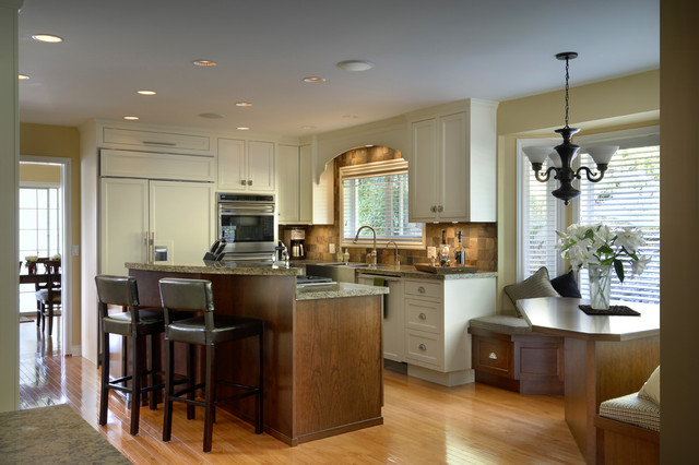 The Charlotte traditional-kitchen
