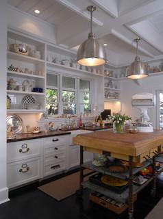 The Charming White Cottage Down By The Sea Naples Florida Beach Style Kitchen Miami