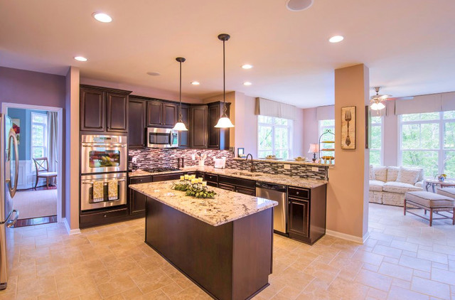 The Chelsey Model traditional-kitchen