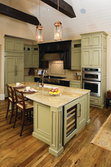 The Clubwell Manor - Plan #5037 traditional-kitchen