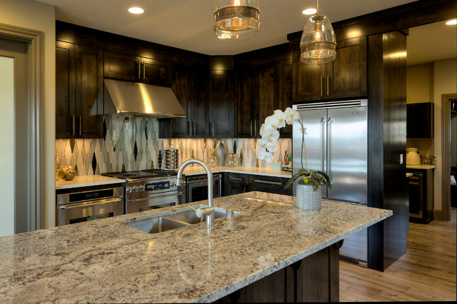 'The Columbia' Residence transitional-kitchen