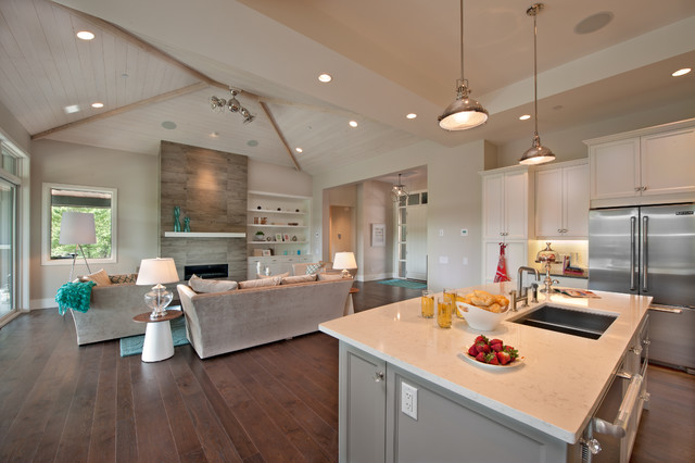 The Cooper Show Home contemporary-kitchen