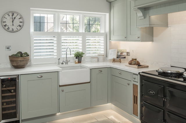 kitchen design studio london the cottage country kitchen by w design 437