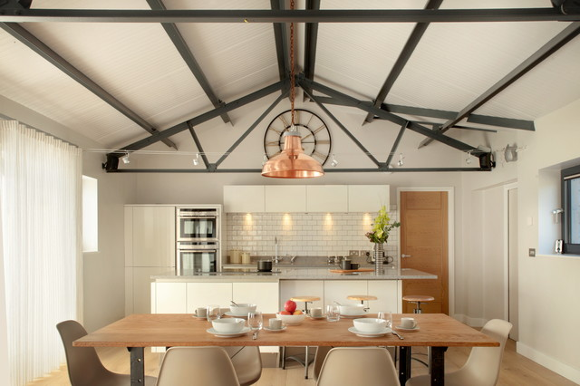 The Cow Shed Barn Conversion Kitchen Country Kitchen