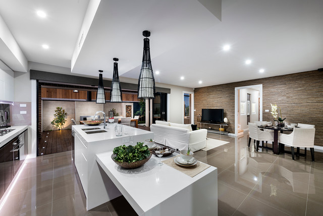 The curzon display home for Kitchen designs canberra