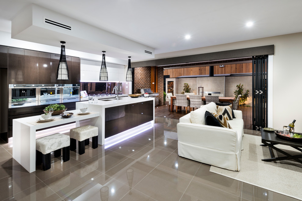 The Curzon - Display Home - Contemporary - Kitchen ...
