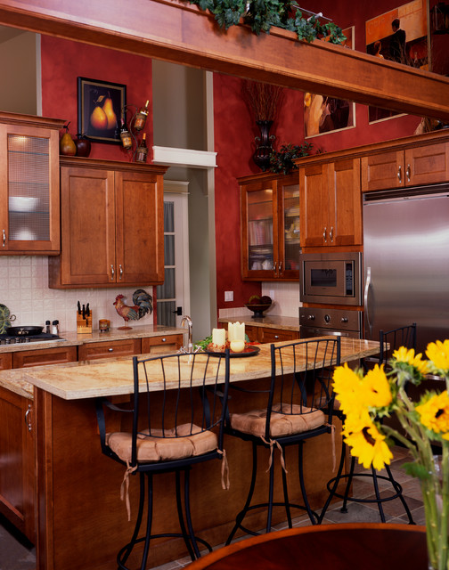 The Denali traditional-kitchen