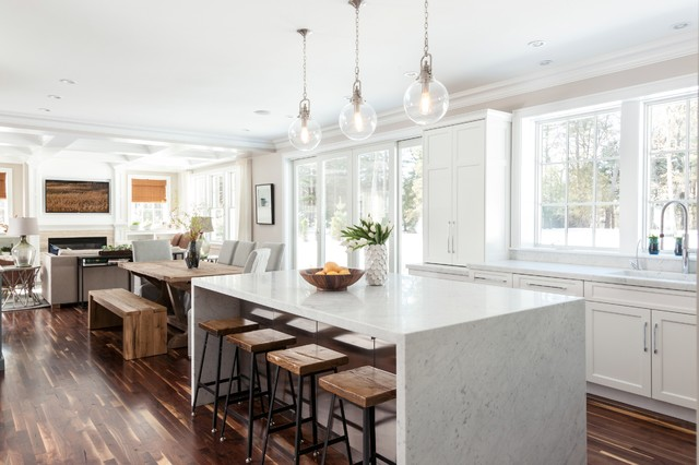 The Designer Kitchen Transitional Kitchen Boston