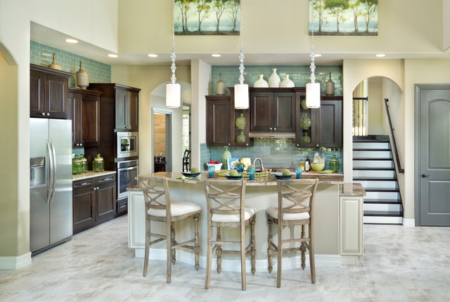The Desirae Traditional Kitchen By Vintage Estate Homes