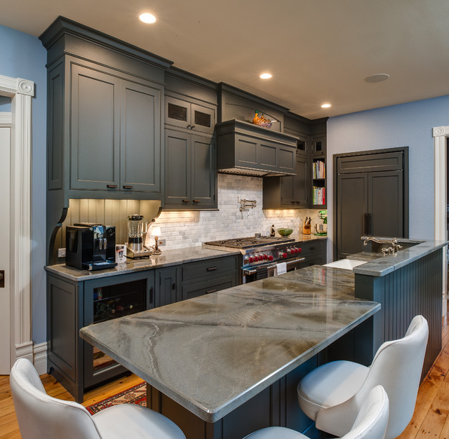 The Doctor S House Transitional Kitchen Other By B C D