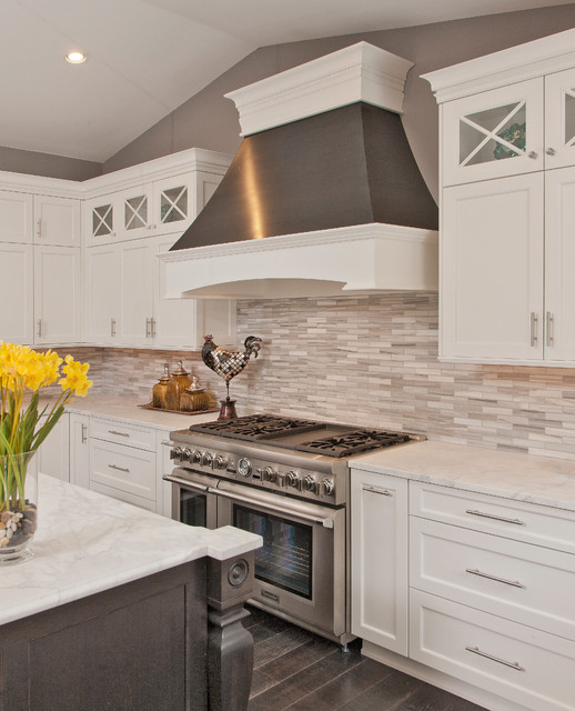 Transitional Kitchens With White Cabinets: THE DREAM White Kitchen