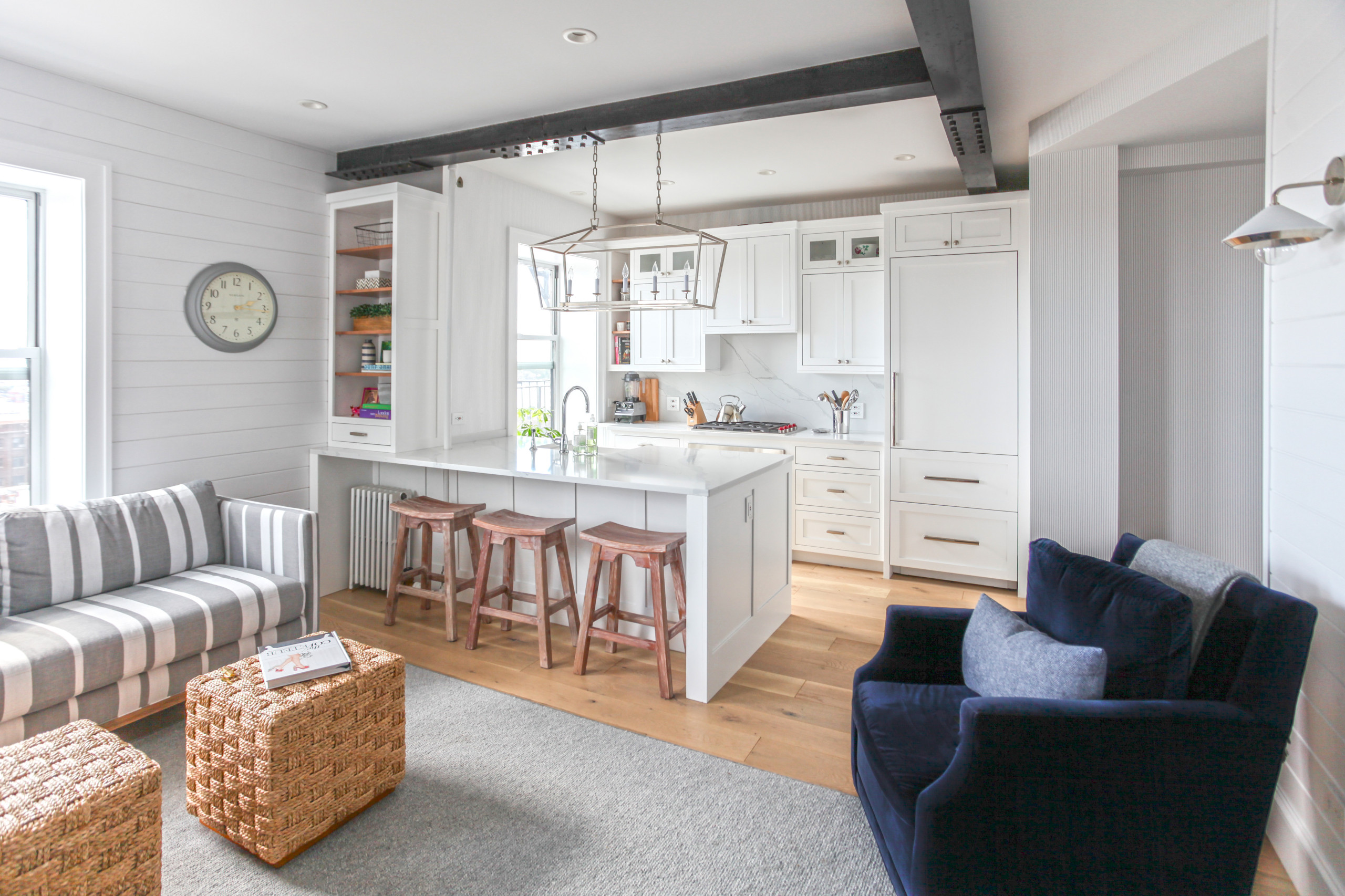 9 Beautiful Small Coastal Kitchen Pictures & Ideas   July, 9 ...