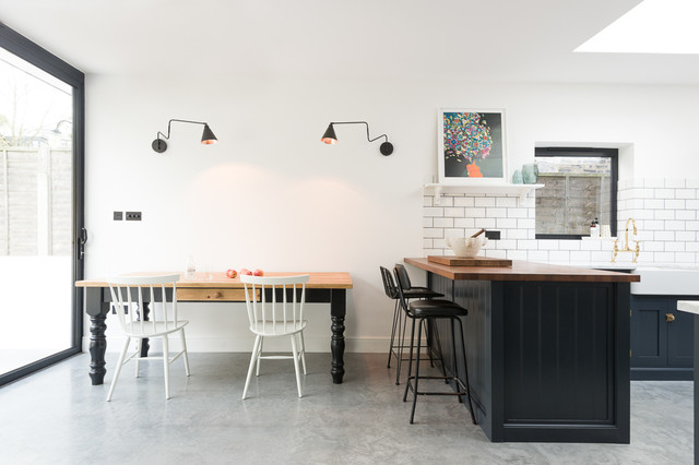 The East Dulwich Kitchen by deVOL - Transitional - Kitchen - London ...