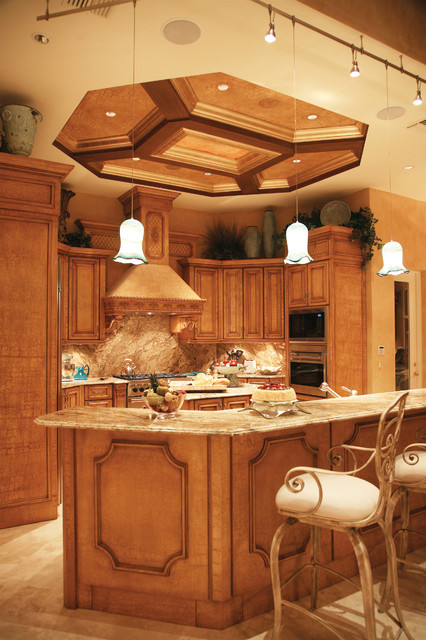 The Elegant traditional-kitchen