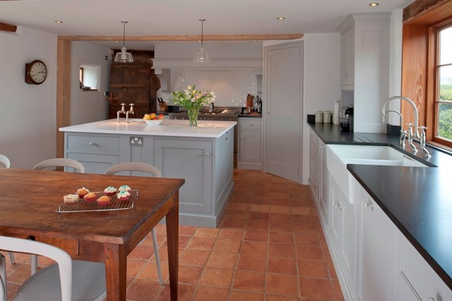 The English Country Kitchen rustic-kitchen