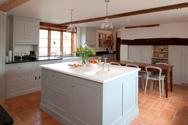 The English Country Kitchen Rustic Kitchen