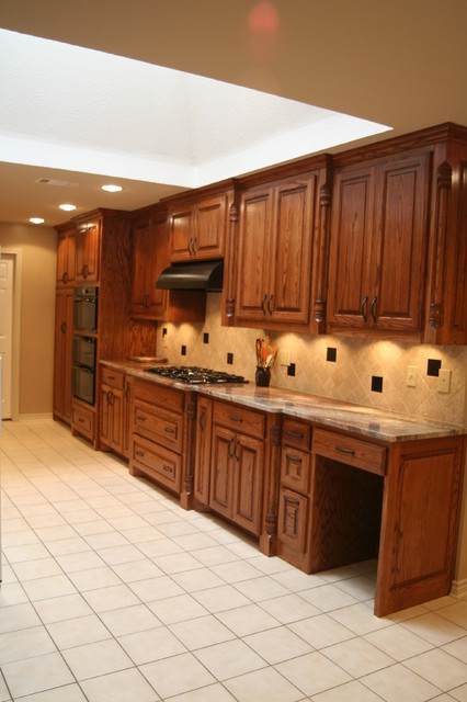 The Eton - Traditional - Kitchen - dallas - by Montgomery Contracting